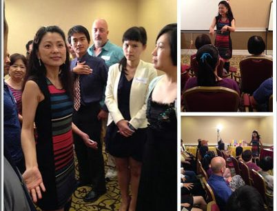 The True Love & Happy Marriage Seminar Completion Sep. 6 2014